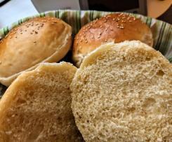 Burgerbuns / Brötchen oder Brioche