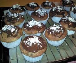 Schwarzwälder-Kirsch-Muffins