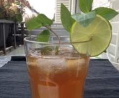 Zitronengras-Ingwer-Limetten Sirup / perfekt für Iced Tea oder Sekt