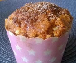 Zimt-Krokant-Muffins