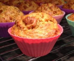 Frühstücksmuffins - ohne Zugabe von Zucker