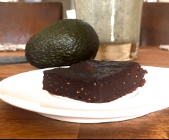 Avocado-Brownies (Low-Carb, super saftig)