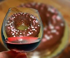 Rotweinkuchen Ruck Zuck mit Kirschen