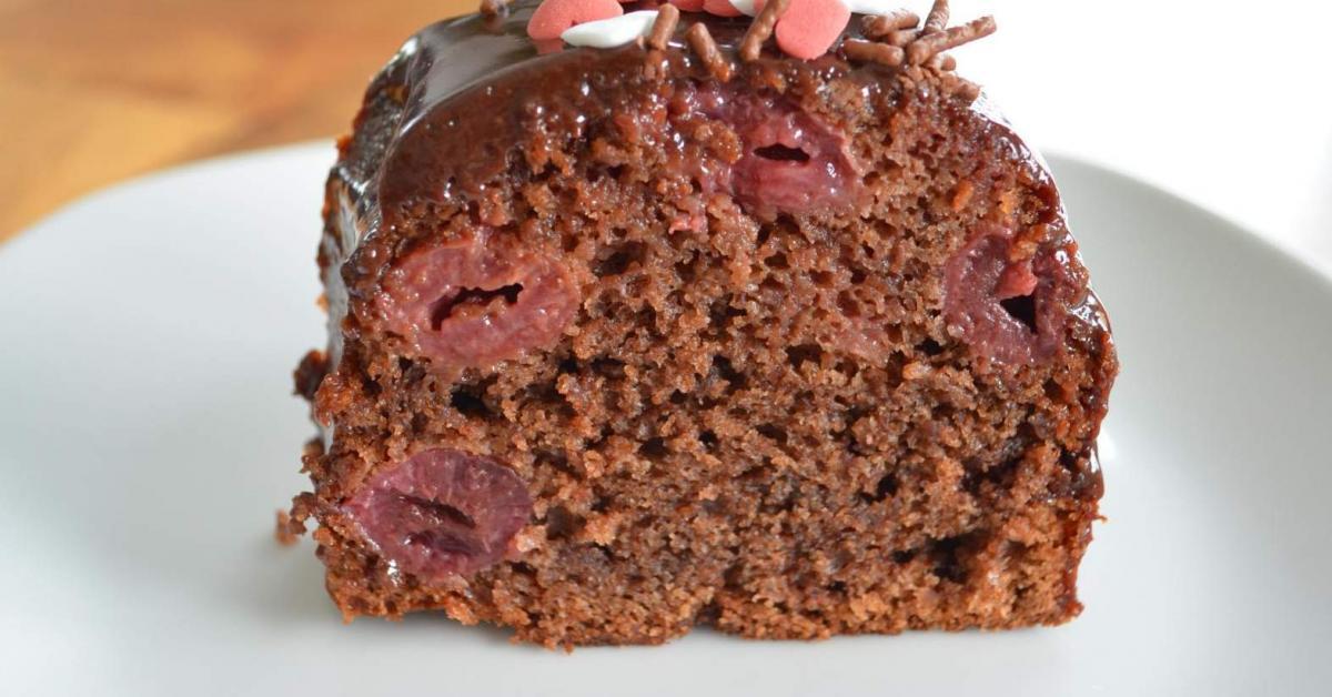 Rotweinkuchen Ruck Zuck Mit Kirschen Von Wsonja24 Ein Thermomix