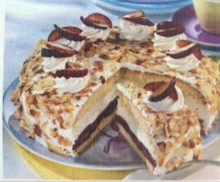Zwetschen-Marzipan-Torte