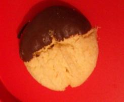 glutenfreie Vanille-Schoko-Kekse