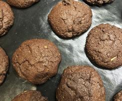 Schoko-Cookies mit Erdnussbutter-Füllung