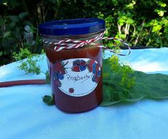 Rhabarber Marmelade