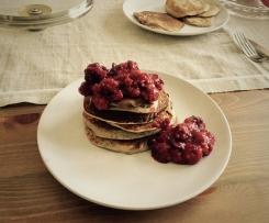 Pfannkuchen (zuckerarm/low carb)