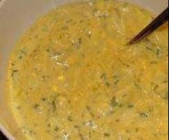 Eiersauce für´s Grillen, Raclette etc. - unser Familienrezept