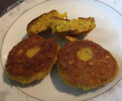 Variation Falafel / Kichererbsenbratlinge