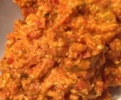Paprika-Feta-Creme