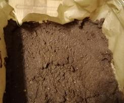 Variation Kidneybohnen-Brownies (low carb, glutenfrei)