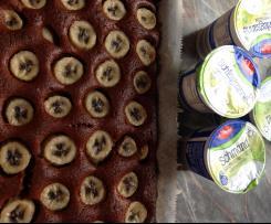 Schoko Bananen Kuchen fructosearm