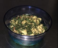Mediterraner Gnocchi Salat