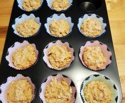 Vegane Karotten-Nuss-Muffins