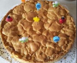 Gedeckter Apfelkuchen -  einfach perfekt