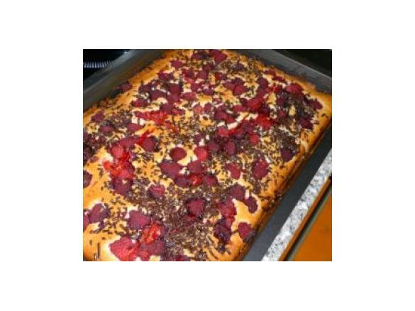 Himbeer Blechkuchen Susses Kuchengluck Von Morgana Ein