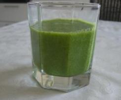 grüner Smoothie, vegan