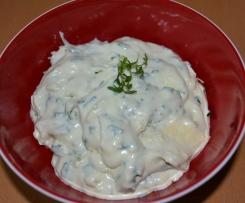 Kräuter-Frischkäse-Butter zum Grillen
