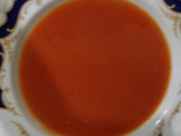 Tomatensuppe Mit Frischen Tomaten Von Smart14 Ein Thermomix