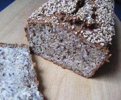 Brot mit Quark und Eiweiß (Low Carb)