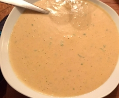Pfifferlingcremesuppe