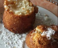 Kuchen im Glas - Schoko-Kokos