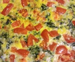 Variation Spinat Frittata