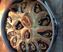 Rosen-(Mohn)kuchen