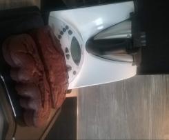 Schokoladen Rote Grütze Kuchen / Muffins