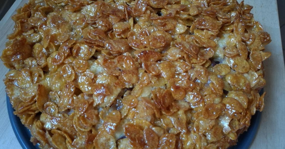 Kirsch Cornflakes Kuchen Fur Kinder Von Caoha Ein Thermomix