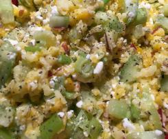 Hüttenkäse Salat - HCG Diätphase