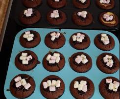 Schoko-Cheesecake-Muffins