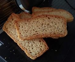 glutenfreies Brot mit Kartoffelflocken