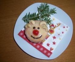 Lemon-Muffins im Rudolf-Design