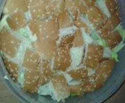 Schichtsalat a la Burger