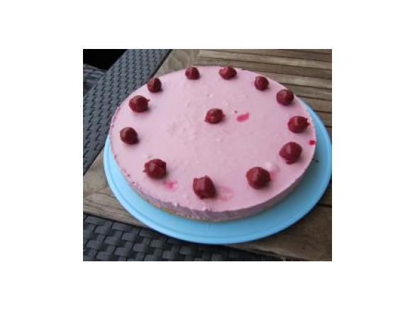 Frischkase Torte Philadelphia Torte In Rosa Mit