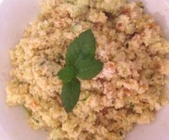 """Orientalischer Couscous-Salat """"Ruck-Zuck"""""""