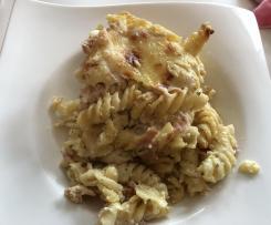 Käse-Schinken Auflauf / Sehr käsig