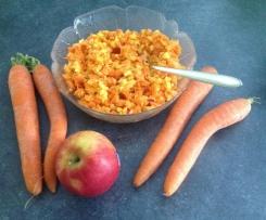 Rohkostsalat mit Möhre & Apfel