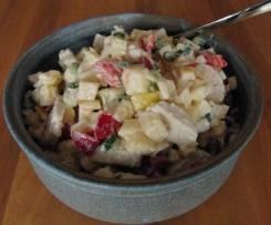 Hähnchensalat mit Apfel