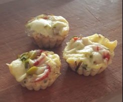 low carb Pizza Muffins