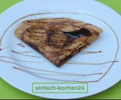 Dinkelmehl Pfannkuchen mit Rübensirup VEGAN