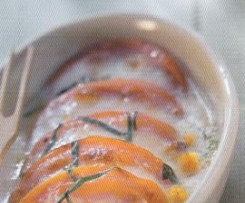 Kürbis-Mozzarella-Auflauf