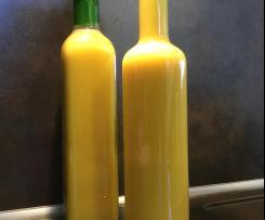 Sommer Salatdressing mit Orangensaft