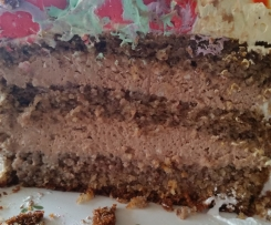 Giotto Torte - Nuß Torte