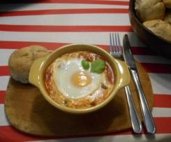 Huevos rancheros - Eier Rancherart mexikanisch