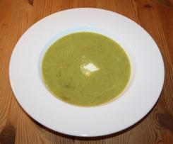 Lauch-Karotten-Suppe mit einer Kokos-Note