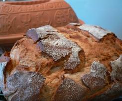 Rustikale Bauernkruste - Roggenmischbrot